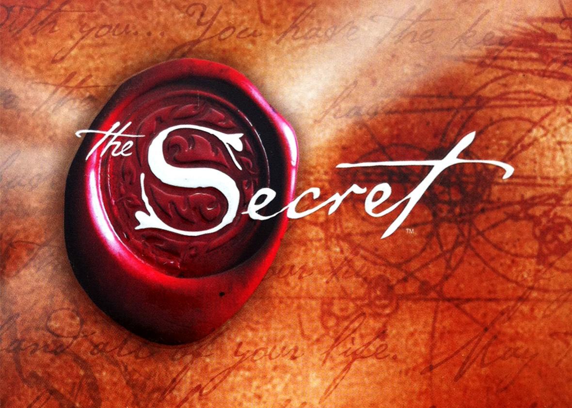 A titok angol borítója