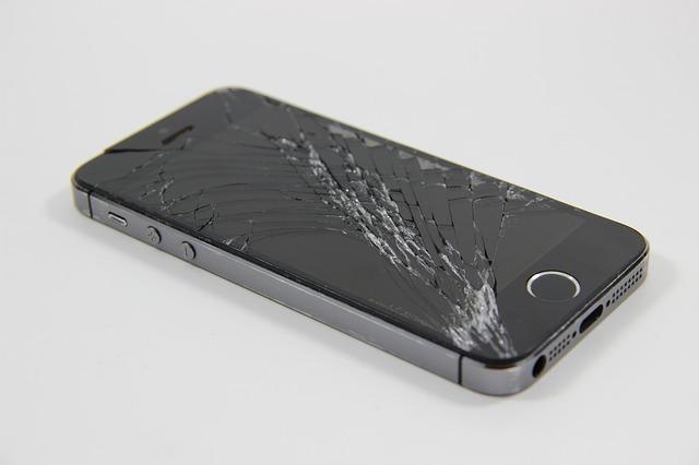 törött kijelzőjű i phone