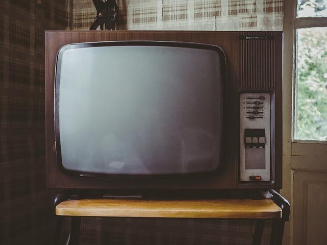 régi típusú televízió