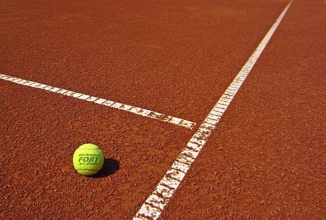 teniszpálya egy részlete