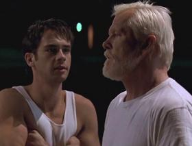 Dan és Szókratész a Békés harcos útja c. filmben