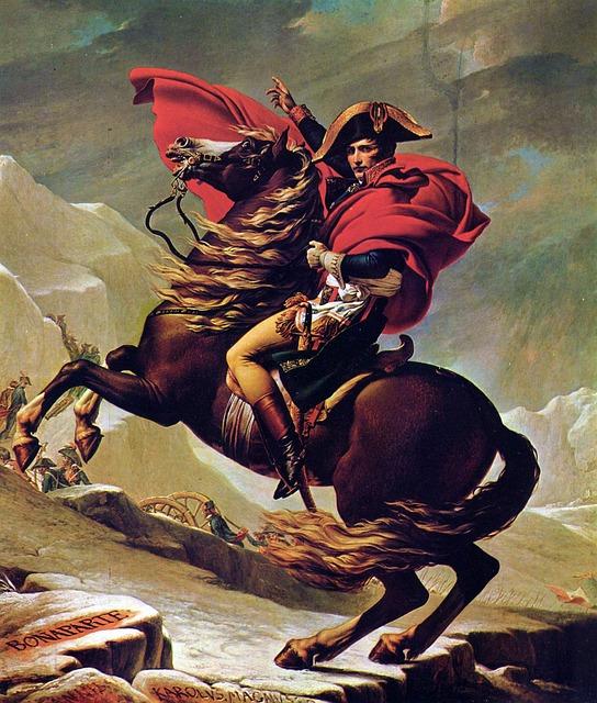 Bonaparte Napoleon lovon (festmény)